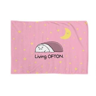 宇宙でオフトゥンぐらし!(ピンク) Blankets