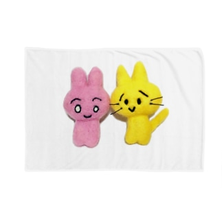 リアルかわいいワールド Blankets