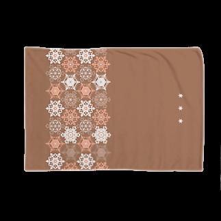 snow crystal ブランケット
