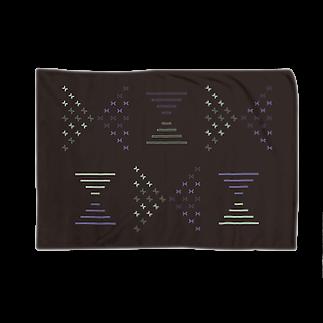 creocordensのbutterfly ribbonブランケット