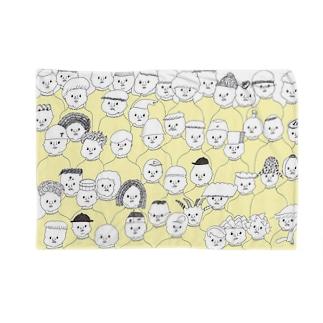 黄色いハイネックのつどい Blankets