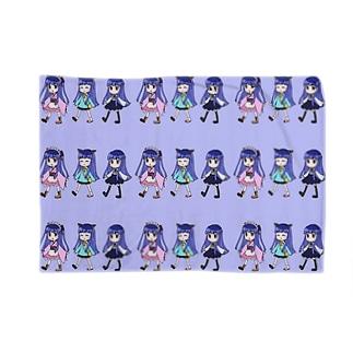 雪美ちゃんブランケット Blankets