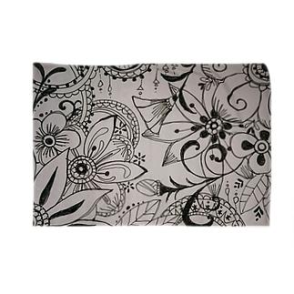 モノクロflower Blankets