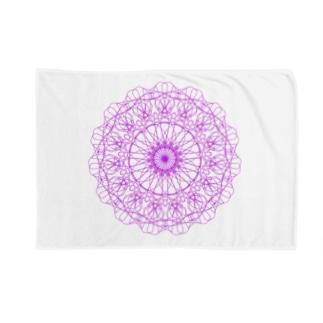 花の模様 Blankets