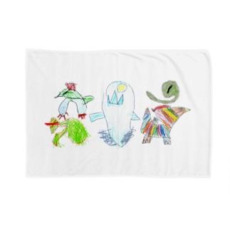 怪獣5 Blankets