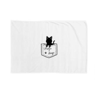 ぬこブランケット Blankets