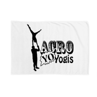 AcroYOyogis Blankets