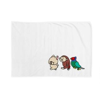 フレブルちゃんとオトモ。 Blankets