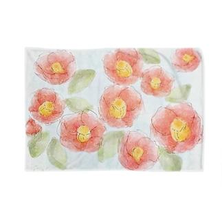 水面椿(ミナモツバキ) Blankets