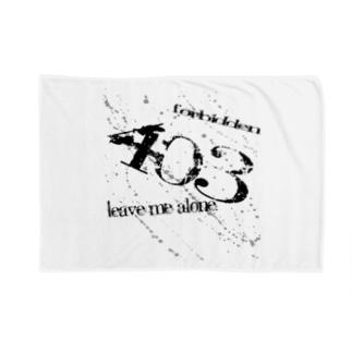 403 Forbidden Blankets