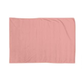 日本の伝統色 0006 珊瑚色 さんごいろ Blankets