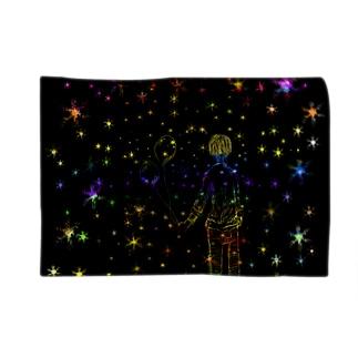 星の風船 Blankets