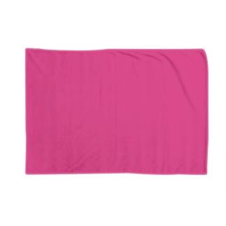 日本の伝統色 0033 躑躅色 つつじいろ Blankets