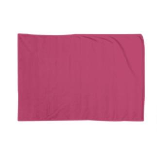 日本の伝統色 0036 中紅 なかべに Blankets