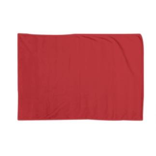 日本の伝統色 0040 赤紅 あかべに Blankets