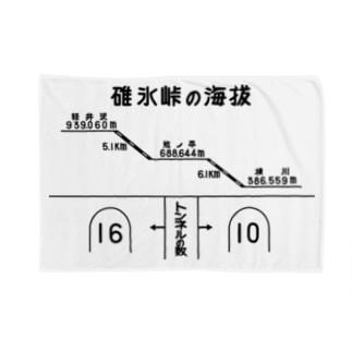 熊ノ平駅観光案内看板(下地無し) Blankets