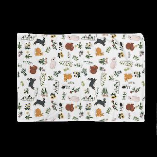 SCHINAKO'Sの春待ちうさぎ Blankets