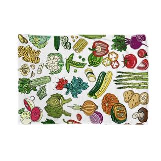 野菜ブランケット Blankets
