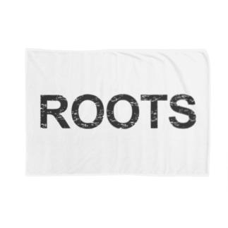 ROOTS公式 ブランケット