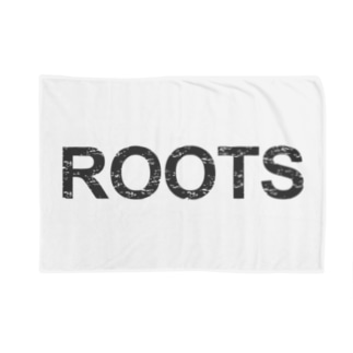 ROOTS公式 Blankets