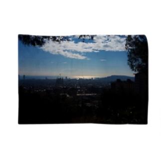 バルセロナ一望 Blankets