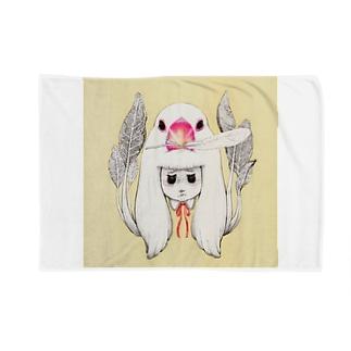 文鳥からのプレゼント Blankets