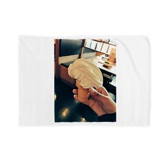 ソフトクリーム Blankets