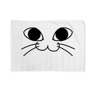 にゃんこふぇいす /猫 Blankets