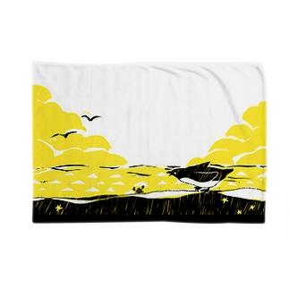 ペンギンとカニ Blankets
