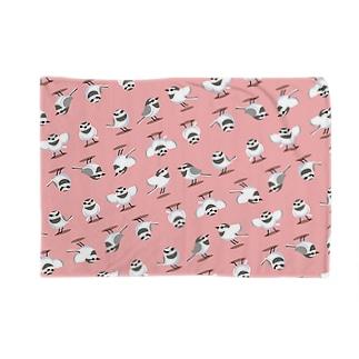 ハクちゃん(ピンク) Blankets