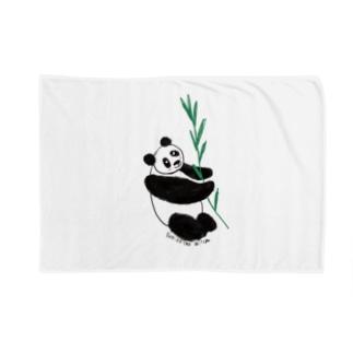 友人はパンダが大好き❤️ Blankets