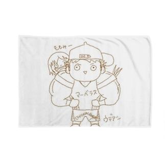 ウデアシ桃 Blankets