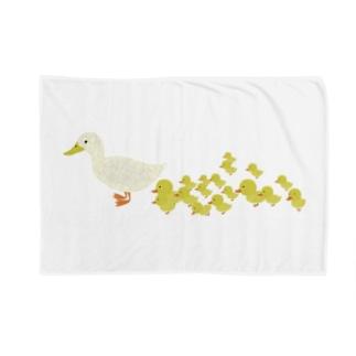 可愛いアヒルのブランケット Blankets