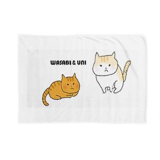 わさび&うに Blankets