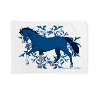 BLUE HORSE Blankets