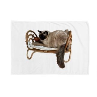 てんてんベッド Blankets