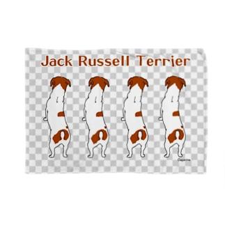 ジャックのBACK 市松 Blankets