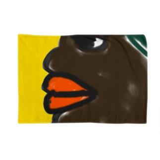 African Beauty  ブランケット