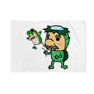 農家のおっさん大野さん Blankets