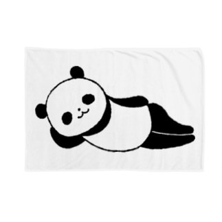 ねパンダ Blankets
