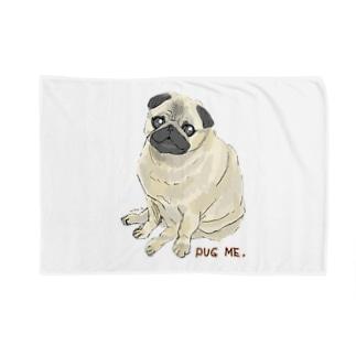 パグ ME🌸 Blankets
