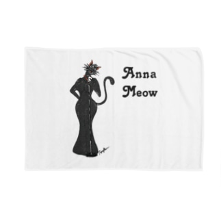 Anna Meow Blankets