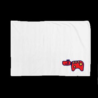 #akabekorのAkabeko 赤べこ Blankets