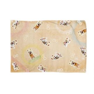 犬の俊介(ブランケット) Blankets