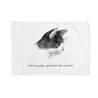 猫(横顔) Blankets