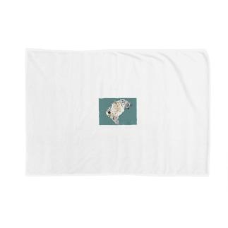 デブ猫 Blankets