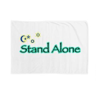 StandAlone社 オリジナルロゴver.2 Blankets