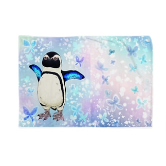 ケープペンギン「ちょうちょ追っかけてたらまいごになっちゃった…」 Blankets