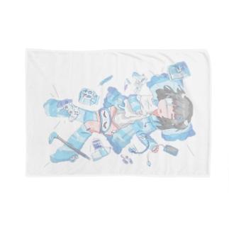 包み焼き Blankets