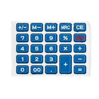 電卓blue ブランケット